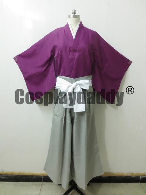 Costume de Cosplay animé Hakuouki Hijikata Toshizo Costume Kimono japon