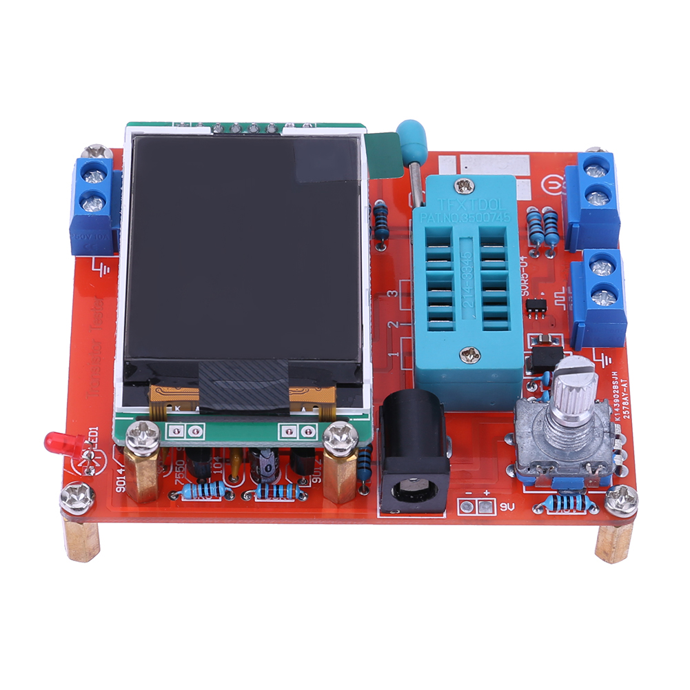 NOUVEAU Multifonction Testeur GM328 Transistor Testeur Capacité de la Diode Tension Fréquence Mètre PWM Onde Carrée Signal Générateur
