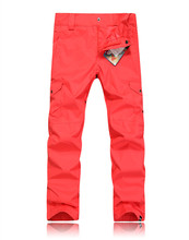 New brand candy colorful thick warm waterproof windproof ski font b pants b font women outdoor