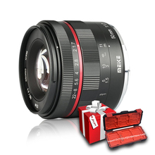 Meike 50mm F1.7 โฟกัสเลนส์สำหรับ Sony alpha E   mount A6300 A6000 A6500 NEX3 NEX7 A7 A7II a7III Full Frame Mirrorless กล้อง