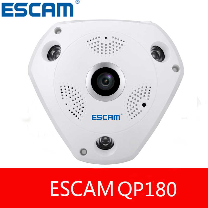 ФОТО ESCAM Shark QP180 H.264 1.3 million High-definition Wireless Night Vision Built-in VR Mode Function