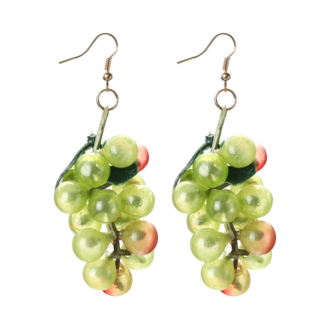Novelty Exaggerated Fruit Pendant Earrings for Women Vacation Beach Scenery Special Jewelry for Girls Ladies Party.jpg 640x640 - Novelty Exaggerated Fruit Pendant Earrings for Women Vacation Beach Scenery Special Jewelry for Girls Ladies Party Accessories