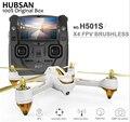 H501s hubsan x4 pro 5.8g fpv sin escobillas con 1080 p hd de la cámara Interruptor de Modo de Control Remoto GPS RC Quadcopter RTF Drone Con Cámara