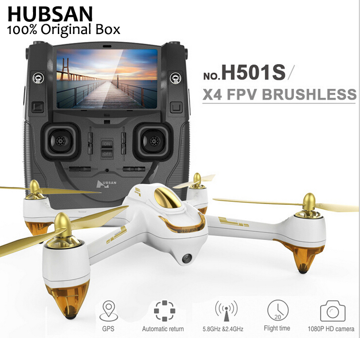 Hubsan H501S X4 Pro 5 8G FPV Brushless With 1080P HD font b Camera b font