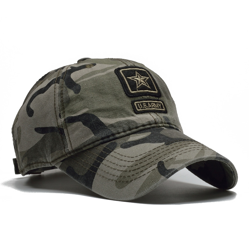 [NORTHWOOD] US Army Cap Camo Baseball Cap Men Camouflage Baseball Hats Snapback Bone Masculino Trucker Cap Pentagram Dad Hat