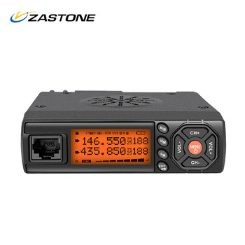 Zastone Z218 Mini Car Walkie Talkie 25W VHF 136-174MHz UHF 400-470MHz Mobile Radio Transceiver Communicator For for Car Bus Taxi
