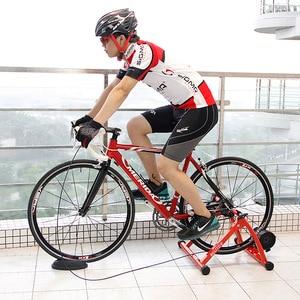 Image 5 - Entraîneur de cyclisme de 26 à 28 pouces, à résistance magnétique, Station dentraînement de bicyclette, entraînement à domicile