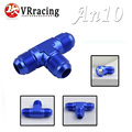 VR RACING- AN -10 AN10 Flare Tee T Piece Adaptor Adapter Fittings All Male VR-SL824-10-011
