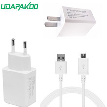High quality good 2A EU US Plug Wall Charger Micro USB Charger Cable For Samsung Galaxy
