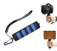 SLR camera accessories camera handheld stabilizer LED camera light photography light flash bracket sponge handle
