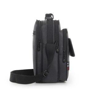 Image 2 - 높은 품질 서류 가방 남자 작은 메신저 가방 남자 방수 옥스포드 비즈니스 핸드백 여자 미니 어깨 가방 9.7 인치 Ipad