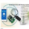 Itead Reciente Sonoff TH 10A/16A Interruptor de Temperatura Y Humedad Control de WiFi Inteligente Wifi Remoto Inteligente Piezas Modificadas