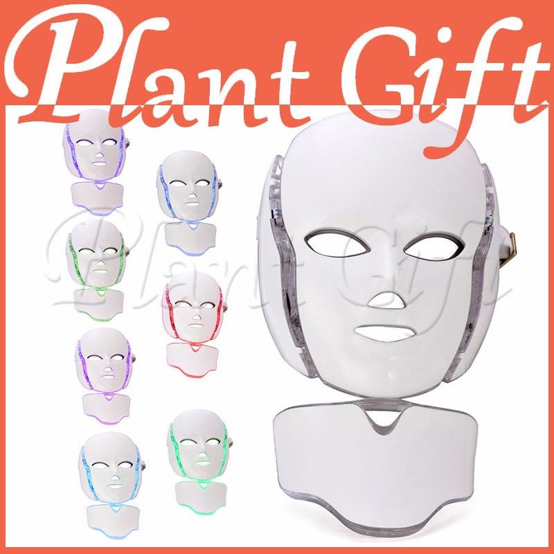 Mask Instrument Beauty Equipment Home Acne Led Light Color Photorejuvenation Instrument Spot Blanket Wrinkle Colorful Mask