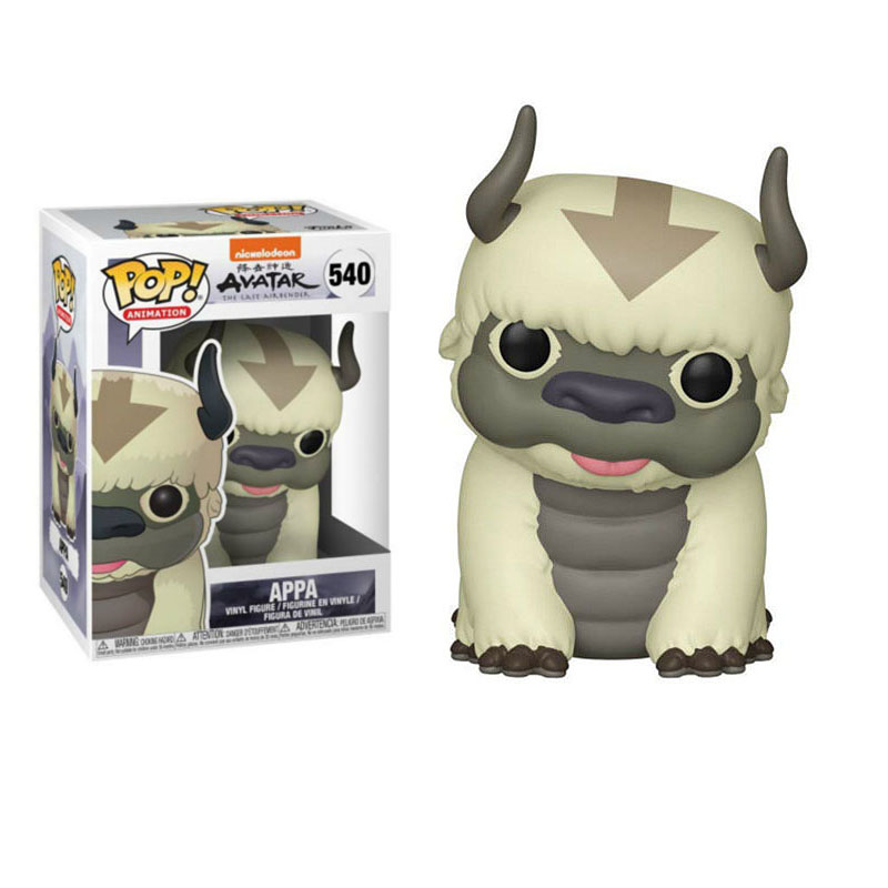 Funko Pop 2019 Avatar Appa Aang Vinyl Collectible Model Action Figures For Kids Birthday Gifts Toy Halloween