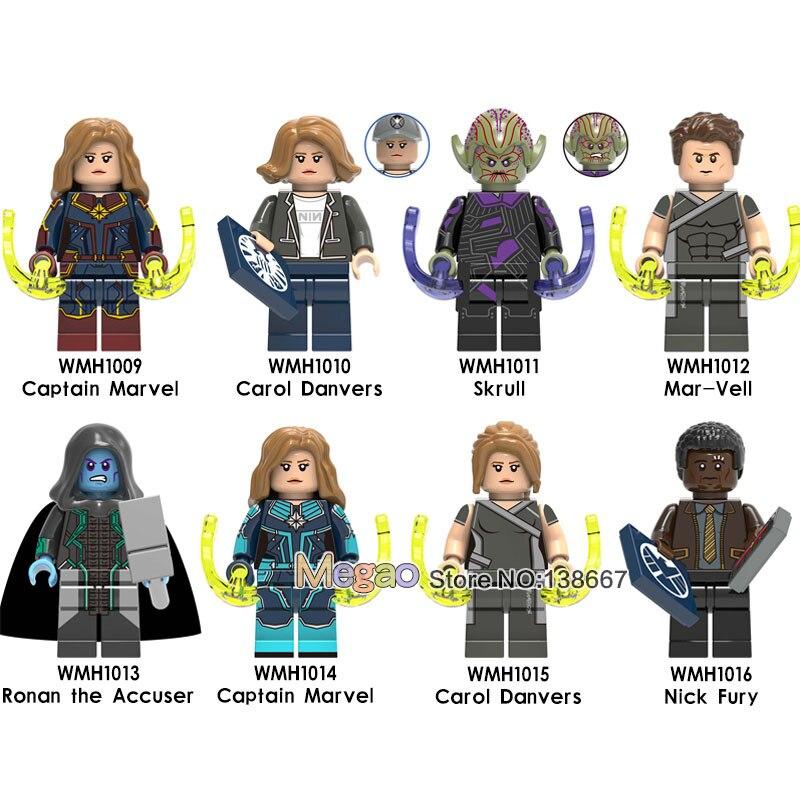 50 ชิ้น/ล็อต ly Captain Marvel s 4 ใหม่ Super Heroes กัปตันอเมริกาแม่ม่ายดำอาคารบล็อกของเล่นเด็ก-ใน บล็อก จาก ของเล่นและงานอดิเรก บน AliExpress - 11.11_สิบเอ็ด สิบเอ็ดวันคนโสด 1