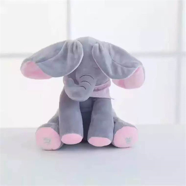 Urso/Elefante Peek a Boo 5