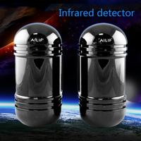 New Alarm Dual Beam Photoelectric Infrared Detector Sensor 100M Home Garden Security
