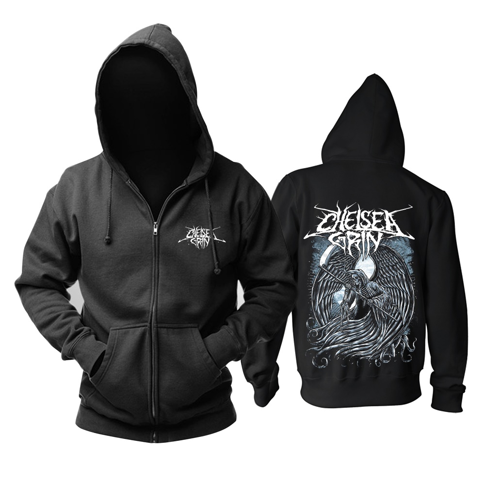 11 designs Reißverschluss Sweatshirt Chelsea Grinsen Rock Baumwolle wolf hoodies shell jacke marke punk tod heavy metal sudadera fleece-in Hoodies & Sweatshirts aus Herrenbekleidung bei  Gruppe 3