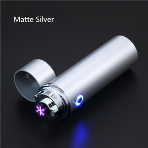 Image 3 - New Cigar USB Lighter Electric 6 Pulse Arc Tobacco Pipe Lighter Cigarette Powerful Six Plasma Thunder Metal Cigarette Accessory