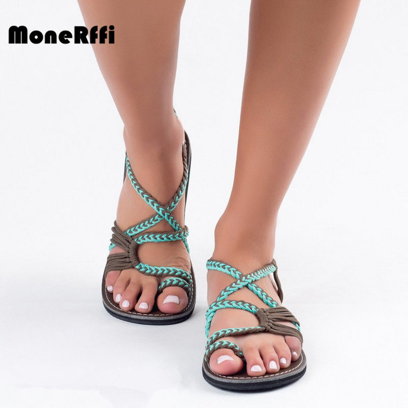 MoneRffi Fashion Women Summer  Sandal Flip-Flop Thong Slipper Cross Toe Sandal Casual Shoes Junior Girl Gladiator Sandal 35-43MoneRffi Fashion Women Summer  Sandal Flip-Flop Thong Slipper Cross Toe Sandal Casual Shoes Junior Girl Gladiator Sandal 35-43