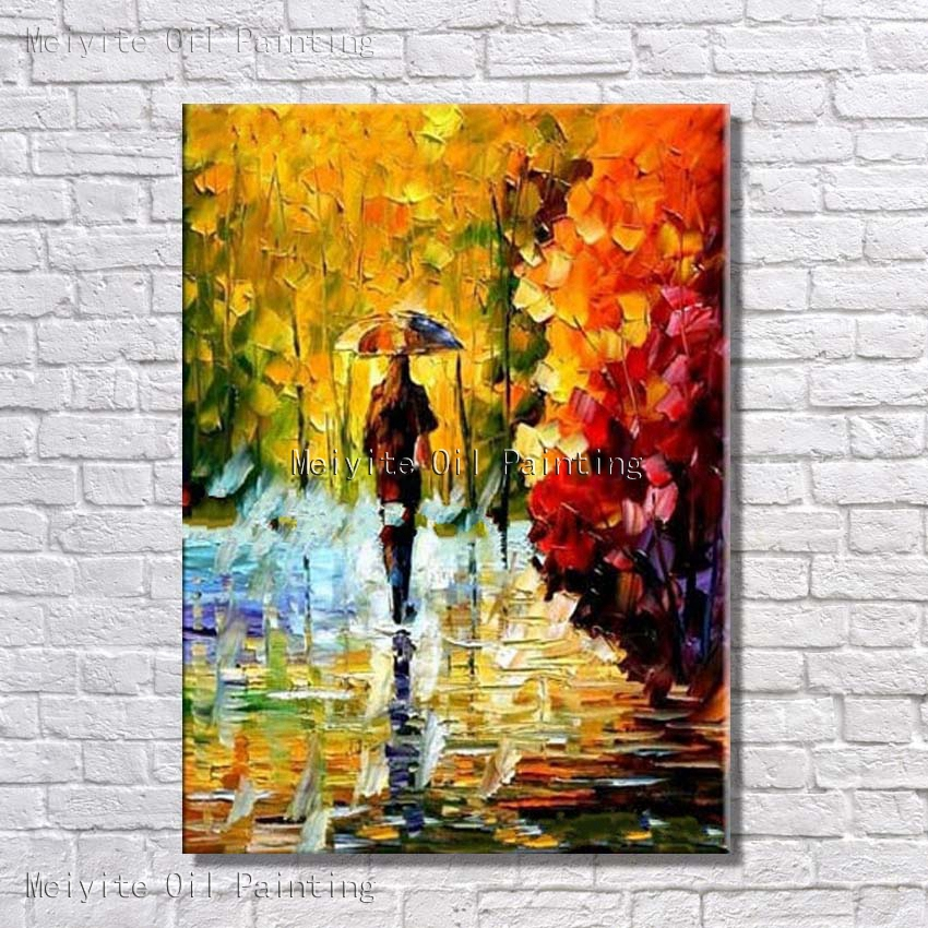Aliexpress.com : Buy Handpainted New Modern Abstract Wall Pictures ...