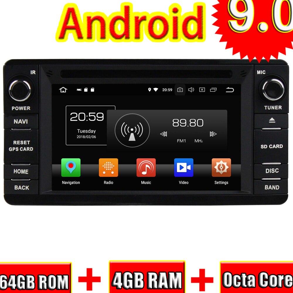 Topnavi Octa Core Android 9.0 Car GPS Navigation For Mitsubishi OUTLANDER 2014 Car DVD Multimedia Audio Radio Stereo In Dash|Vehicle GPS| |  - title=