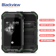 Blackview BV6000 4.7 inch 4G Smartphone Android 7.Zero 3GB RAM 32GB ROM Octa Core 2.0GHz 5MP + 13MP Cameras IP68 Waterproof NFC