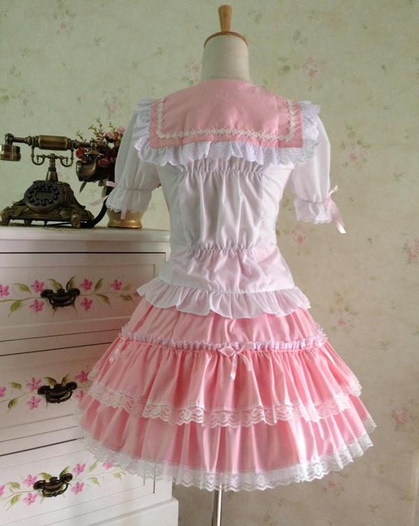 Poletna obleka princesa cosplay kostum dekle lolita obleka - Ženska oblačila - Fotografija 4