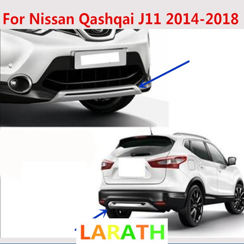 for Nissan Qashqai J11 2016 2017 2018 Car Trunk Scratch Guard Sill Plate Cover Styling Accessories Stainless Steel QQY Rear Bumper Protector