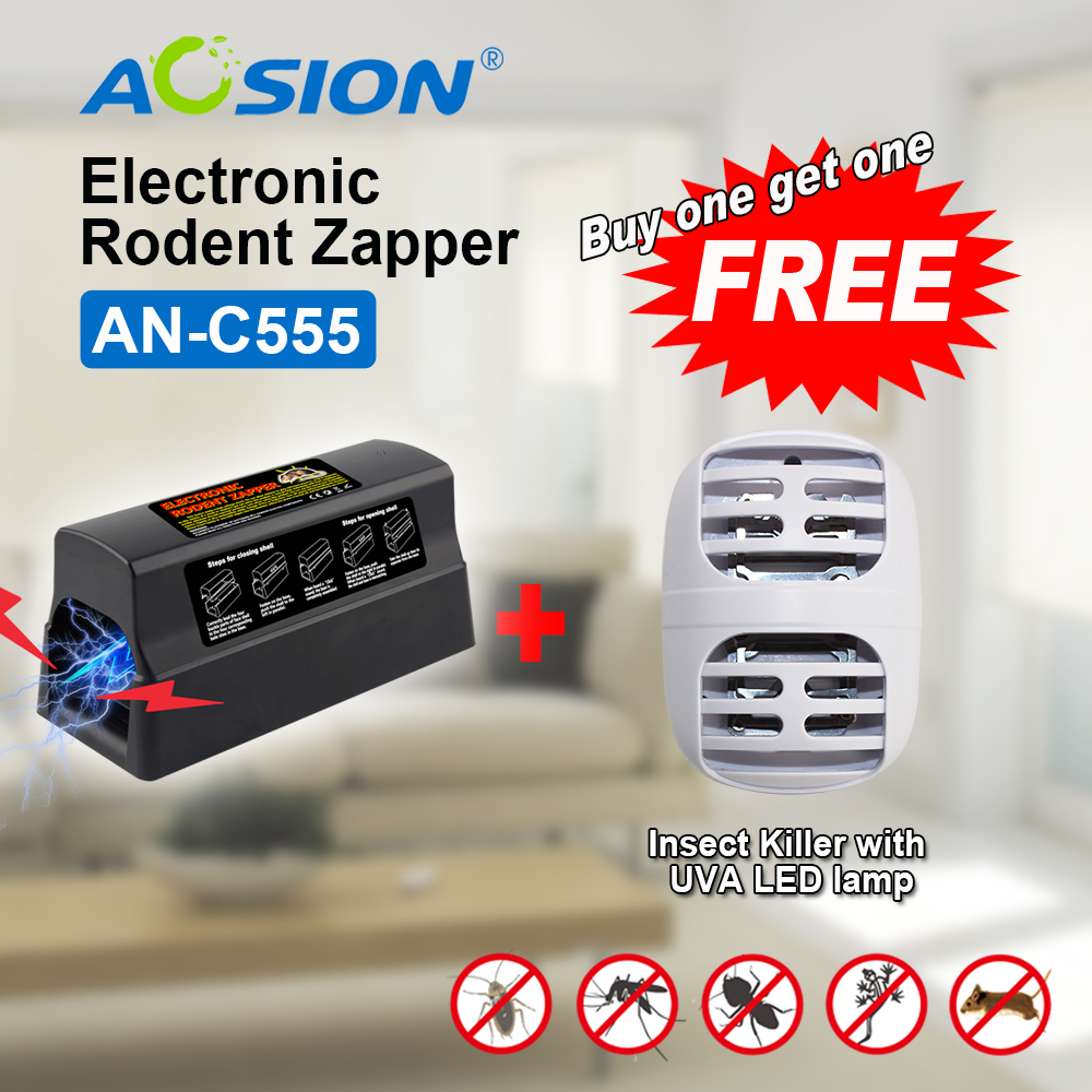 Buy Aosion Free Shipping Electronic Rat Trap Mice Mouse Rodent Killer With High Voltage Electric Shock (Got mosquitokiller free) ontario knife rat 1