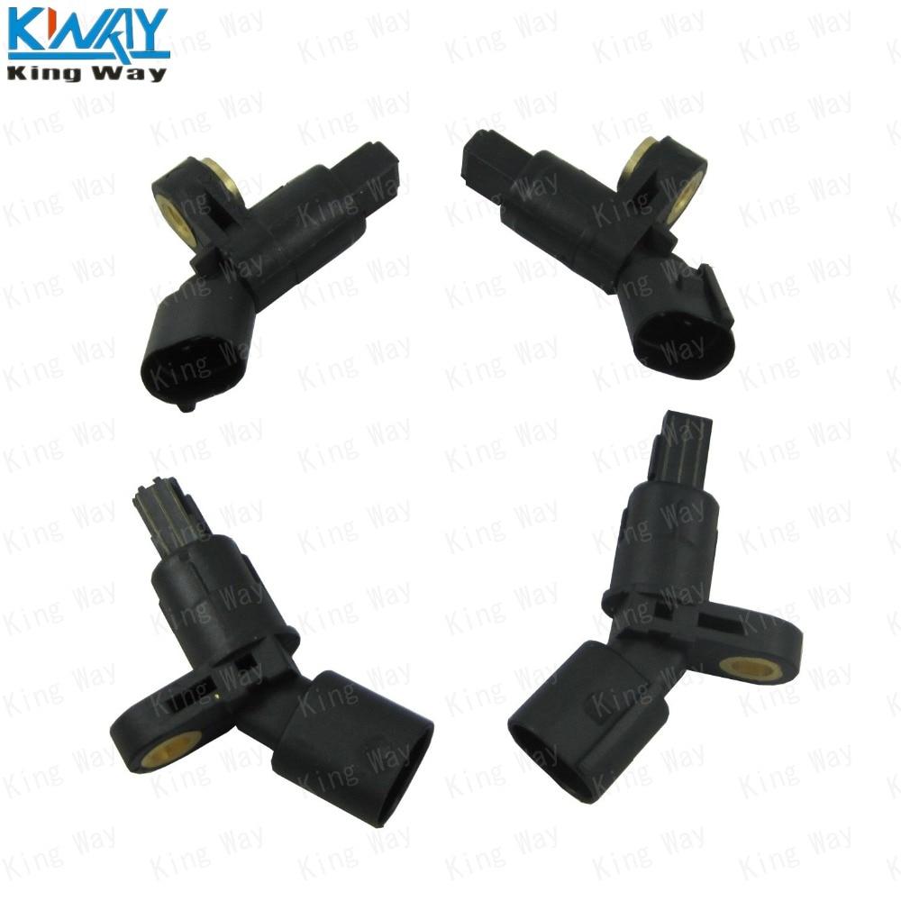 ECCPP Rear Left Right ABS Wheel Speed Sensors Compatible with 2003 2004 2005 2006 2007 2008 Nissan Maxima ALS348 ALS349 Set of 2