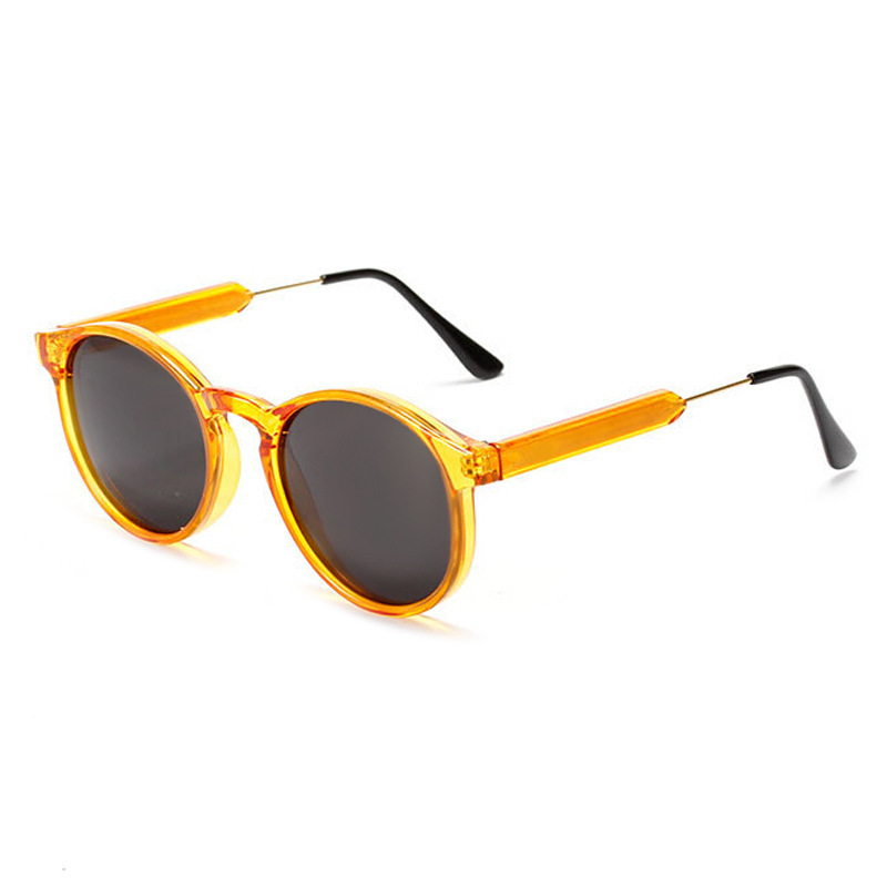 Ms. 2015 new round frame sunglasses retro sunglasses 2318 sunglasses vintage Tide brand in Europe and America