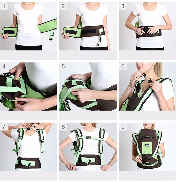 Online Shop Baby Sling 7 9 Multifunction Baby Carrier 15kg Baby