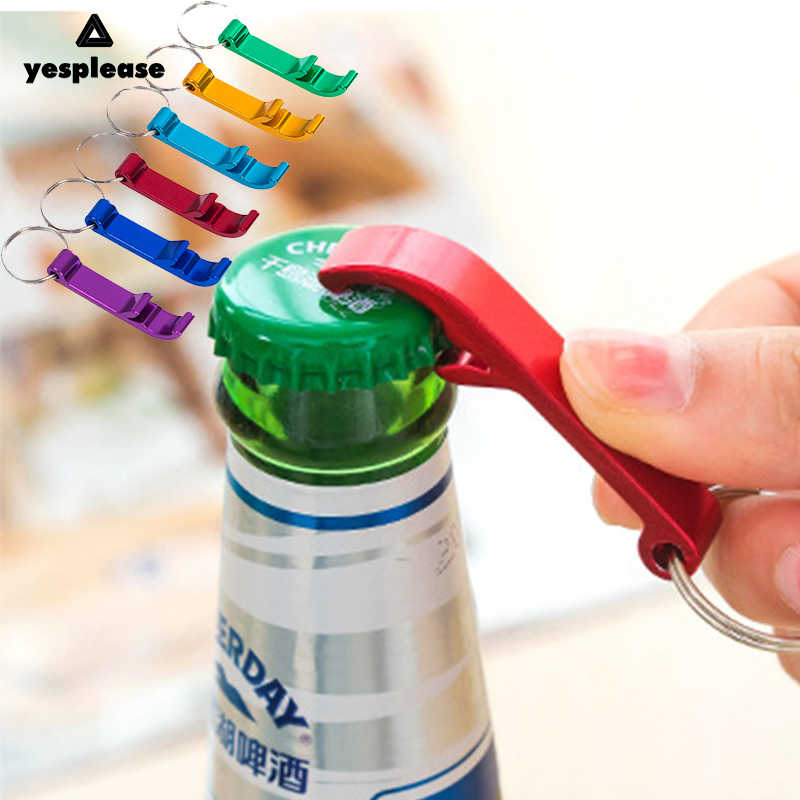 Yesplease New Style Portable Key Ring Chain Keyring Keychain Bottle Opener Metal Beer Bar Tool Claw Gift Unique Creative Gift