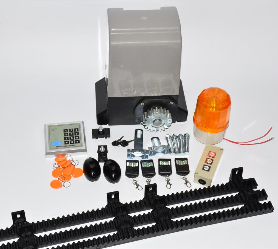 Image 4 - 1200kg KIT SET GATE GATES SLIDING SLIDE AUTOMATIC OPENER MOTOR 6m or 7m rails-in Access Control Kits from Security & Protection