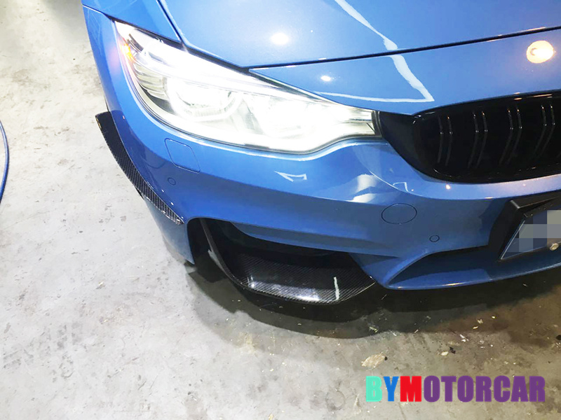 Fit for BMW F80 M3 F82 F83 M4 modified carbon fiber front jaw wind knife decoration-in Racing Grills from Automobiles & Motorcycles on Auto super market world