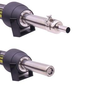 Image 2 - EU220V/ US110V 650W   LCD Adjustable Electronic Heat Hot Air Gun Desoldering Soldering Station IC SMD BGA + Nozzle 8018LCD 8858