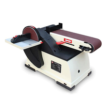 Small Desktop Belt Machine House Multi-function Polishing Machine Vertical Woodworking Sander Knife Grinding Machine JBDS-4115II