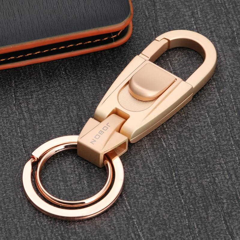 High Quality Brand Stainless Steel Luxury Keychain For Women Man Car Key  Chain Key Ring Birthday Gifts Key Holder 0404e58ff
