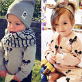 Children Clothing Sets Baby Boy Girl Clothes New 2016 Fashion Kids Tracksuit Baby Girls Winter Coats + Trousers 2pcs/lot Suits