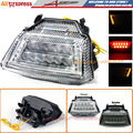 For Kawasaki ZX-10R 2011-2015 Motorcycle Accessories Clear High Quality Integrated LED Tail Light Turn signal Blinker