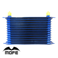 Quality Guarantee Universal High Performance AN 10AN Aluminum Engine Transmisson 13 Row Oil Cooler Blue