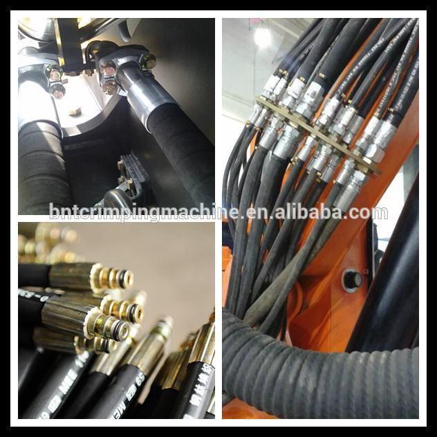 2 дюймовый резиновый шланг обжимной машины гидравлический для