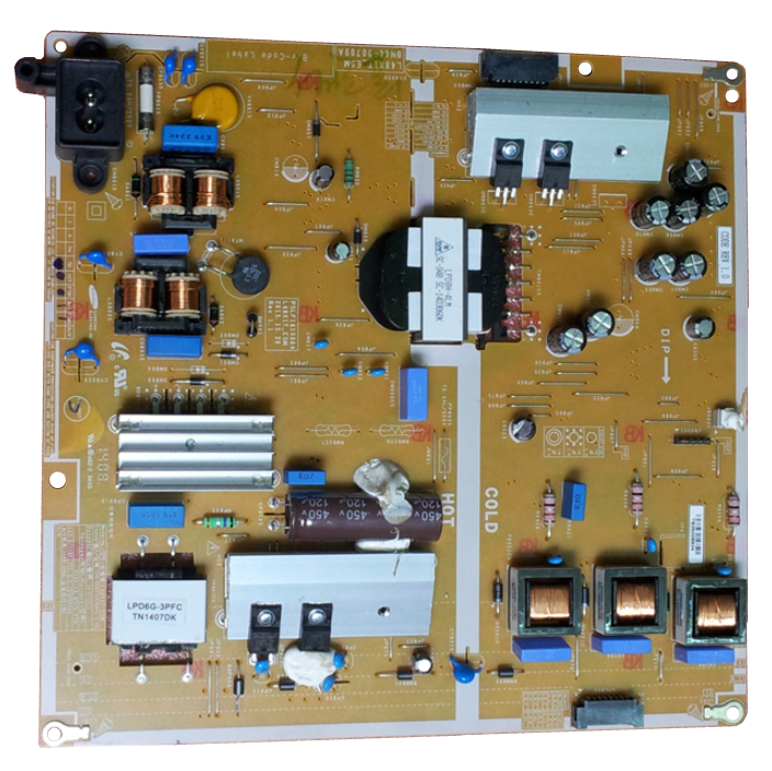 BN44-00709A L48X1T-ESM PSLF141X06A  power supply board l48s1l esm bn44 00703d power supply bn4400703d is used
