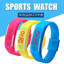 2016 New Fashion & Casual Men Women Unisex Rubber LED Clocks Date Sports Watches Bracelet Digital Student Girl Boy Wristwatches