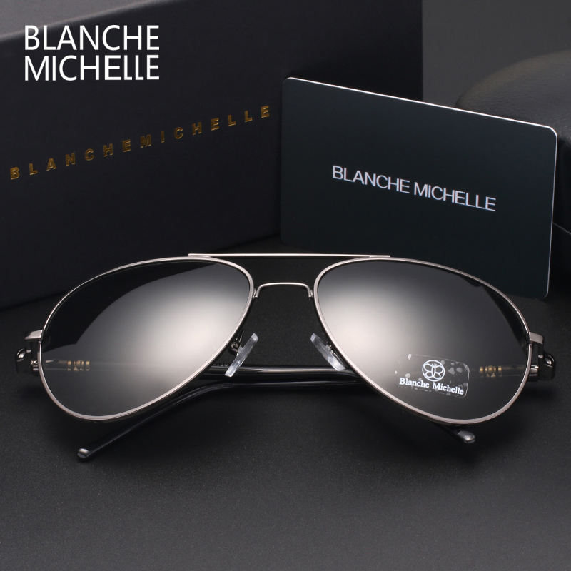 Image 3 - Blanche Michelle 2019 High Quality Polarized Sunglasses Men Brand Designer Sun Glasses Driving UV400 Vintage oculos With Box-in Men's Sunglasses from Apparel Accessories on AliExpress