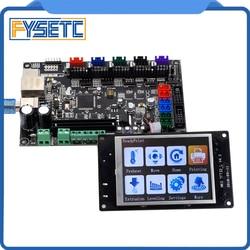 3D Printer Parts MKS TFT32 3.2'' Controller Display + MKS SBASE V1.3 Smoothieboard 32-bit Controller board open source