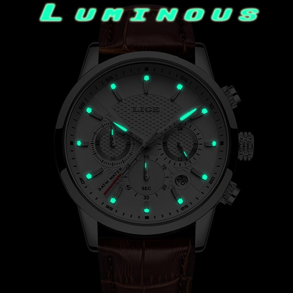 Reloj LIGE deportivo de moda 9