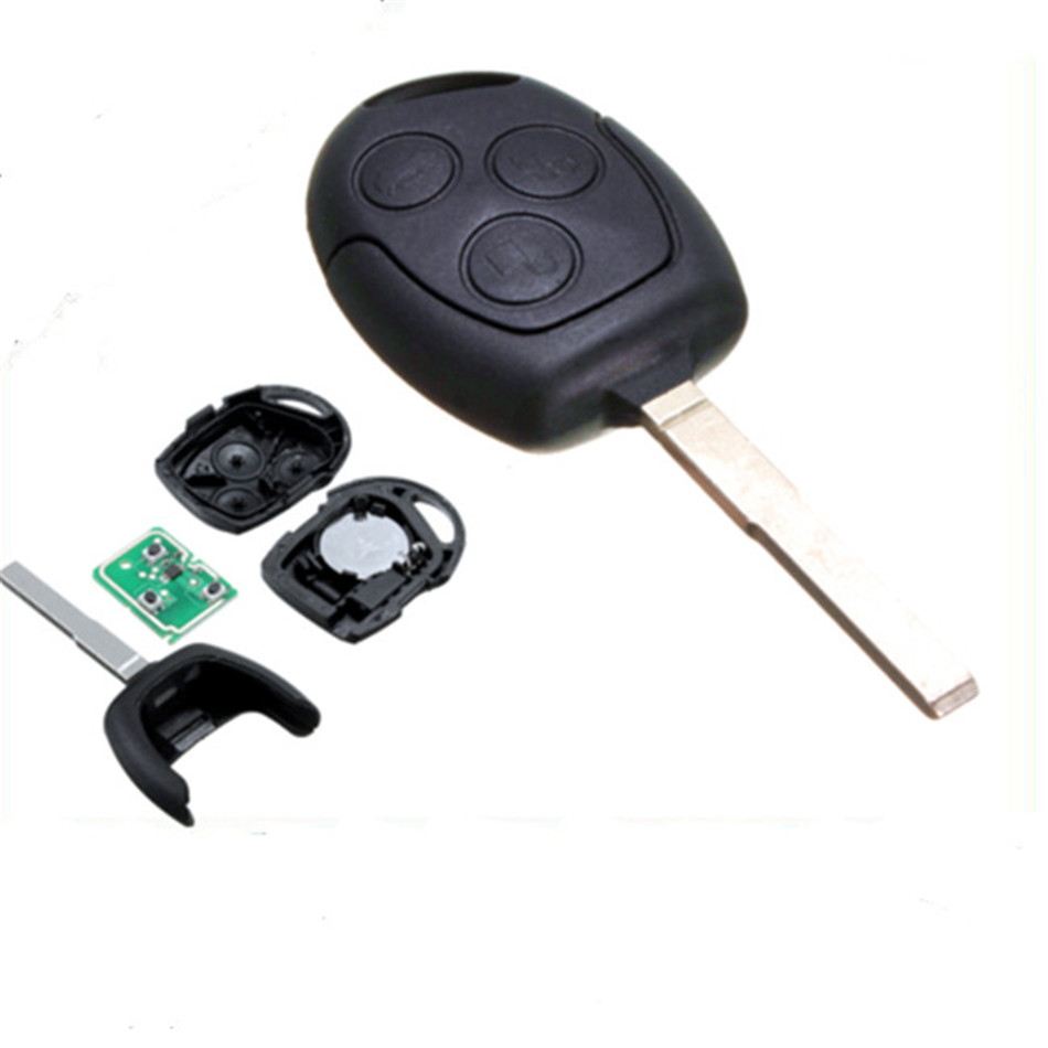 Universal high quality durable brand new 3 buttons remote key fob with 63 start chip for