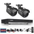 Annke 1080n 960 p 1.3 mp hd de 4 canales dvr 2 al aire libre kit sistema de cámaras cctv seguridad para el hogar